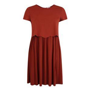 ABOUT YOU Curvy Šaty 'Dinah'  hrdzavo červená