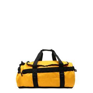 THE NORTH FACE Cestovná taška  žltá / čierna