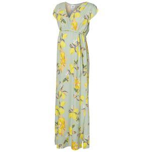 MAMALICIOUS Šaty  svetlozelená / žltá