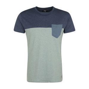 Iriedaily Tričko  s modrými škvrnami / modrosivá / svetlomodrá