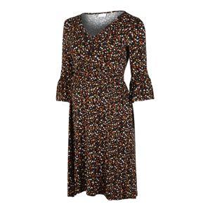 MAMALICIOUS Šaty 'Ana Lia'  čierna / zmiešané farby