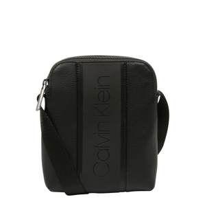 Calvin Klein Taška cez rameno 'STRIKE MINI REPORTER'  čierna