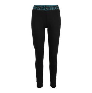 ONLY PLAY Športové nohavice 'AERIES'  zelená / čierna