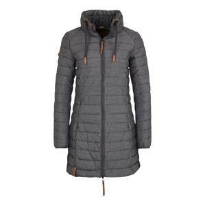 Naketano Zimný kabát  bronzová / sivá