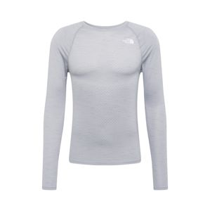 THE NORTH FACE Funkčné tričko 'ACTIVE TRAIL'  sivá melírovaná / biela