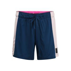 NIKE Športové nohavice  rosé / modré