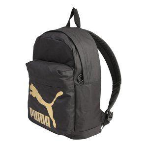 PUMA Športový batoh 'Originals Backpack'  zlatá / čierna