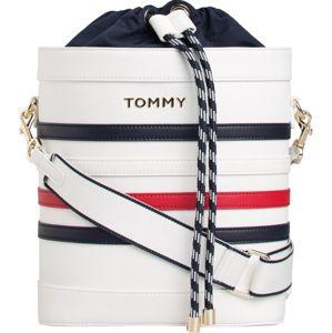 TOMMY HILFIGER Vak  červené / biela / tmavomodrá