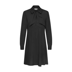 EDITED Košeľové šaty 'Ilka'  čierna