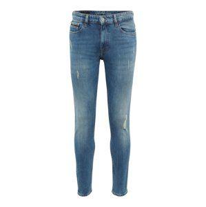 Calvin Klein Jeans Džínsy 'KARNA BLUE DESTRUCT'  modrá denim
