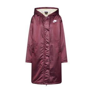 Nike Sportswear Zimný kabát 'W NSW NSP SYN FILL PARKA'  červená