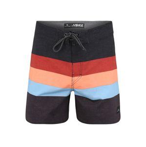 RIP CURL Surferské šortky 'RETRO SORBET'  svetločervená / svetlomodrá / čierna / kobaltovomodrá
