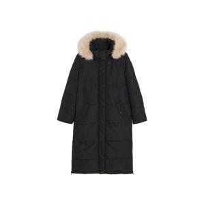 MANGO Zimný kabát 'Aura'  čierna