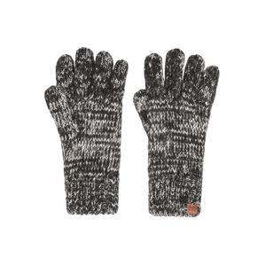 Bickley + Mitchell Prstové rukavice  čadičová / čierna