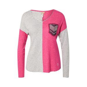 Key Largo Tričko 'WLS CANDLE'  zmiešané farby / sivá / ružová