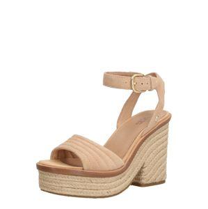 UGG Remienkové sandále 'LAYNCE'  bronzová / béžová