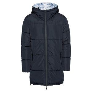 EDC BY ESPRIT Zimný kabát 'Reversable Puff Jackets'  námornícka modrá / biela