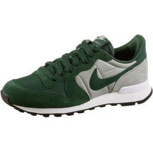 Nike Sportswear Nízke tenisky 'Internationalist'  sivá / tmavozelená