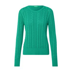 UNITED COLORS OF BENETTON Sveter 'SWEATER L/S'  zelená