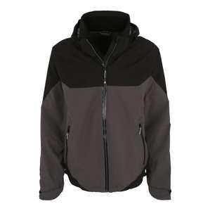 KILLTEC Športová bunda 'Nadior'  antracitová / čierna