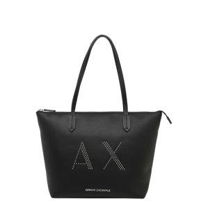 ARMANI EXCHANGE Shopper  čierna