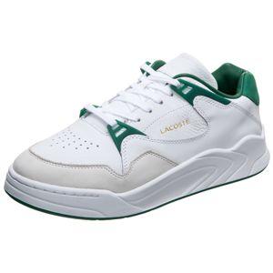LACOSTE Nízke tenisky 'Court Slam 319'  zelená / biela