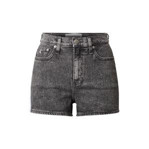 Calvin Klein Jeans Džínsy  biela / sivá melírovaná