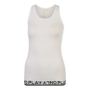 ONLY PLAY Športový top 'PERFORMANCE'  čierna / biela