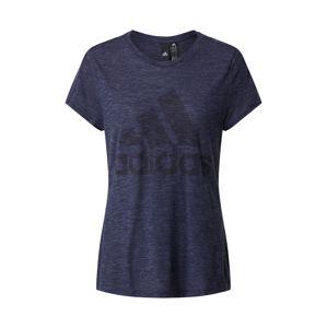 ADIDAS PERFORMANCE Funkčné tričko 'WINNERS'  modrá melírovaná