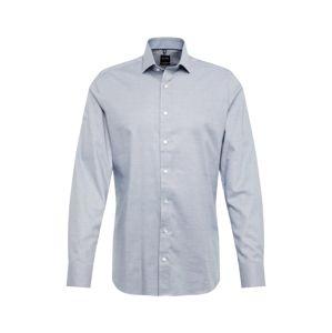OLYMP Biznis košeľa 'Level 5 Check'  námornícka modrá