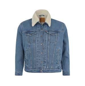 Levi's® Plus Prechodná bunda 'TRUCKER'  modrá denim