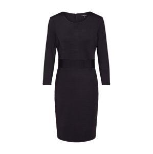 MORE & MORE Puzdrové šaty  čierna