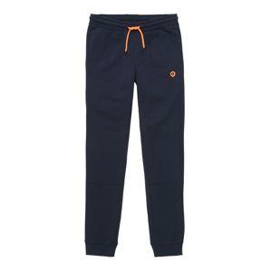 Jack & Jones Junior Nohavice 'VISUAL'  námornícka modrá