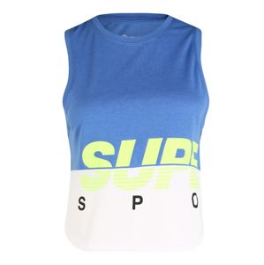 Superdry Top  limetová / sivá melírovaná / modrá