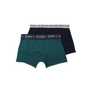 Tommy Hilfiger Underwear Nohavičky '2P TRUNK Boys'  námornícka modrá / jedľová