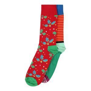 Happy Socks Ponožky 'Christmas Cracker Holly Gift Box'  zmiešané farby