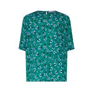 Samsoe Samsoe Tričko 'Amabel'  zelená / zmiešané farby