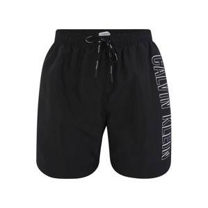 Calvin Klein Swimwear Plavecké šortky  čierna