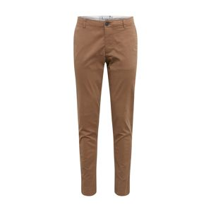 SELECTED HOMME Chino nohavice  hnedé