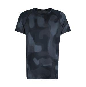 UNDER ARMOUR Funkčné tričko 'MK1 Printed'  tmavosivá / čierna