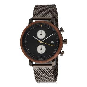 TAKE A SHOT Analógové hodinky  hnedé / čierna