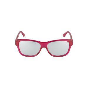 PUMA Slnečné okuliare 'PJ0004S '  fuksia / čierna / strieborná
