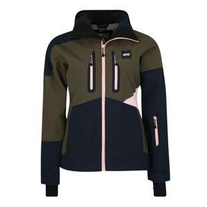 Picture Organic Clothing Športová bunda 'SEEN'  námornícka modrá / kaki / ružová