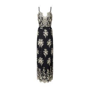 Chi Chi London Šaty 'Chi Chi Hallie Dress'  čierna / zlatá