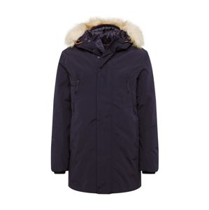 TOM TAILOR Parka 'parka with hood'  čierna