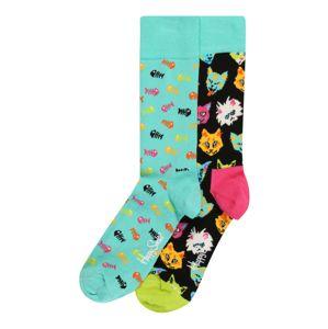 Happy Socks Ponožky 'Cat Gift Box'  zmiešané farby