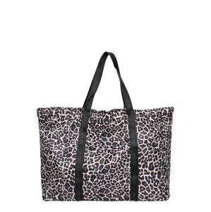 HKMX Športová taška  čierna / telová / hnedá