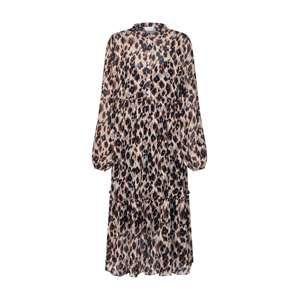 VILA Košeľové šaty 'PACO'  béžová