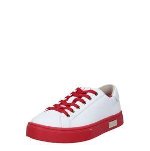 ARMANI EXCHANGE Nízke tenisky  červená / biela