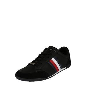 TOMMY HILFIGER Nízke tenisky  biela / červené / čierna